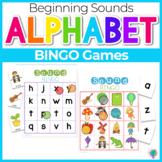 Beginning Sounds- BINGO Games