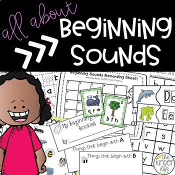 Beginning Sounds BLOWOUT- 5 Interactive Activities to Master Beginning Sounds