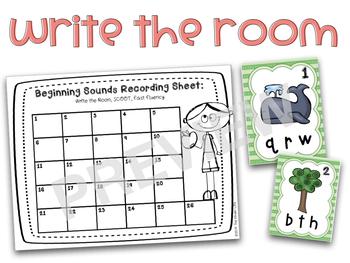 Beginning Sounds BLOWOUT- 5 Interactive Activities to Master Beginning Sounds