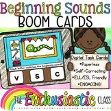 Beginning Sounds BOOM Cards