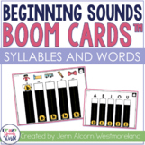 Beginning Sounds BOOM Cards™ for Speech Therapy
