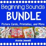 Beginning Sounds BUNDLE Distance Learning