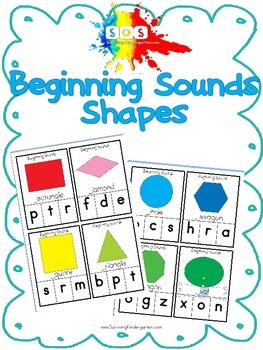 Beginning Sounds- Basic Shapes