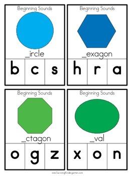 Beginning Sounds- Basic Shapes