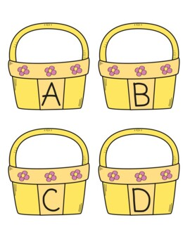 Beginning Sounds Basket and Eggs