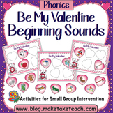 Beginning Sounds- Be My Valentine