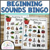 Beginning Sounds Bingo