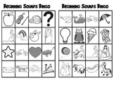 Beginning Sounds Bingo, Letter Learning Game