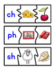 Beginning Sounds MATCHING PUZZLES - Blends and Digraphs