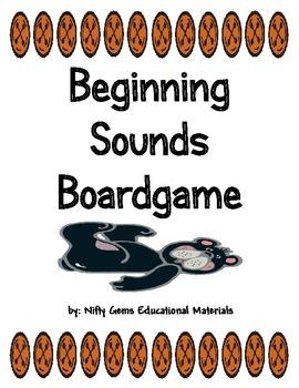 Beginning  Sounds   Board Game