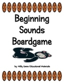 Beginning  Sounds   Board Game