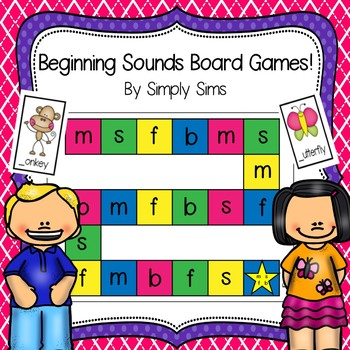 ABC Beginning Sounds Board Games