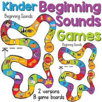 Beginning Sounds Board Games