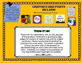 Beginning Sounds Booklet Freebie sample Letter A