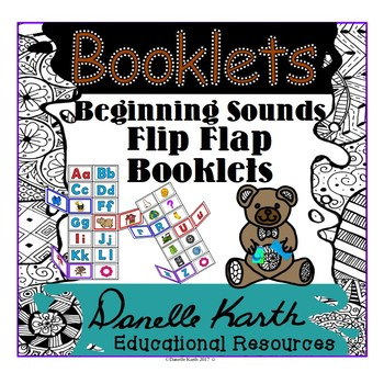 Beginning Sounds Booklets - 4 Booklets in 2 Styles for Fun Practice!