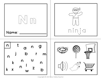 Beginning Sounds Booklets A to Z