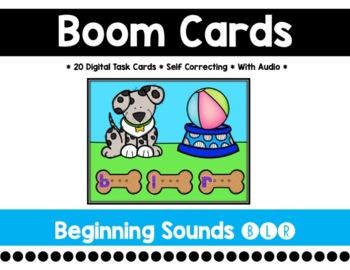 Beginning Sounds Boom Cards {B, L, R}