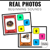 Beginning Sounds Boom Cards with Real Photos