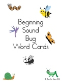 Beginning Sounds Bug Word Cards