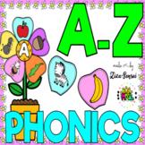 Beginning Sounds Build A Flower Centers Phonics Pack