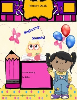 Beginning Sounds: Building Vocabulary