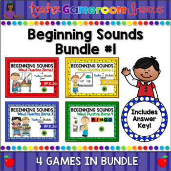 Beginning Sounds Bundle #1