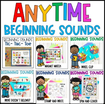Beginning Sounds Bundle- Activities and Centers
