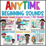 Beginning Sounds Bundle- Activities and Centers