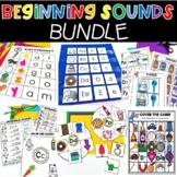 Beginning Sounds Bundle Phonics Literacy Centers Small Groups