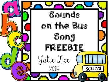 Beginning Sounds Bus FREE