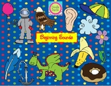 Beginning Sounds COMBO Clipart Set