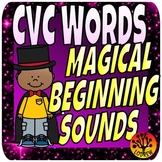 CVC Words Word Families Beginning Sounds Literacy Centers Magic