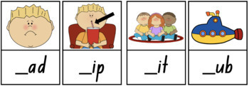 Beginning Sounds CVC - Write it!