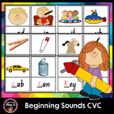 Beginning Sounds CVC - Write it!
