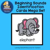 Beginning Sounds Cards Mega Set