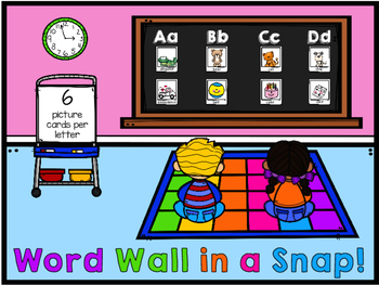 Beginning Sounds Cards in a Snap!