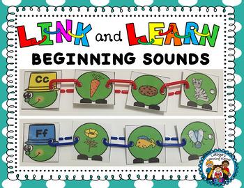 Beginning Sounds- Caterpillar link and learn