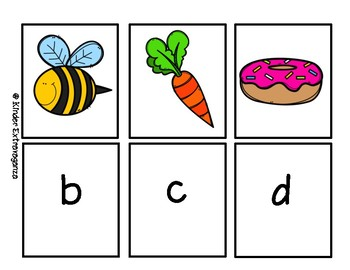 Beginning Sounds Flash Cards