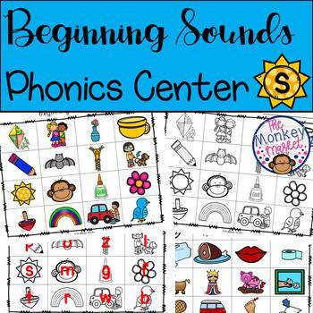 Phonics Center - Beginning Sounds