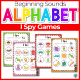 Beginning Sounds Center Activities: I Spy