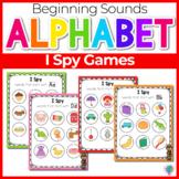 Beginning Sounds Center Activities: I Spy