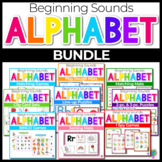 Beginning Sounds Center Activities for Phonemic Awareness- BUNDLE