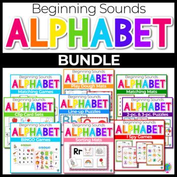Beginning Sounds Center Activities for Phonemic Awareness