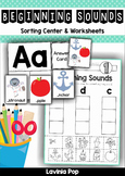 Beginning Sounds Mats and Worksheets