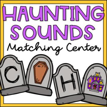 Beginning Sounds Sort Halloween Activity for Kindergarten Literacy Centers