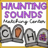 Beginning Sounds Literacy Center for Kindergarten Halloween Theme
