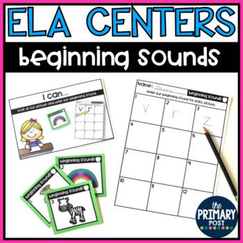 Beginning Sounds Centers