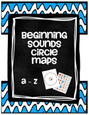 Beginning Sounds Circle Maps Aa - Zz