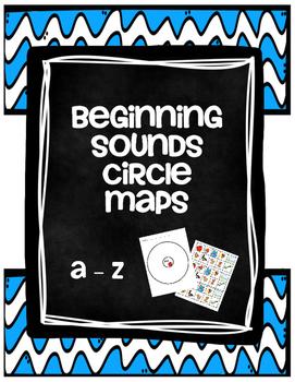 Beginning Sounds Circle Maps Aa - Zz