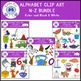 Beginning Sounds Clip Art Bundle N-Z Alphabet